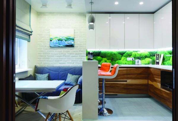 кухонный диван для кухни со спальным местом, фото 43