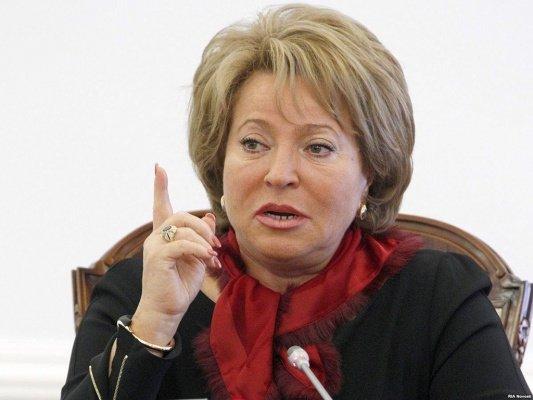 Матвиенко: люди протестуют против повышения пенсионного возраста потому, что не понимают «выгоду»