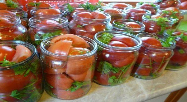 Рецепт помидор дольками с рассолом — словно нектар
