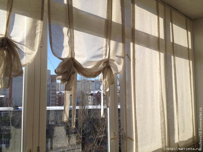 Римские шторы своими руками за 1 вечер: мастер-класс (фото) 66