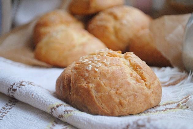 Творожные булочки на завтрак…