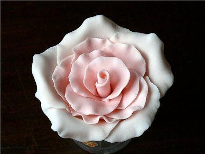 Ты можешь сделать съедобные розы из мастики.