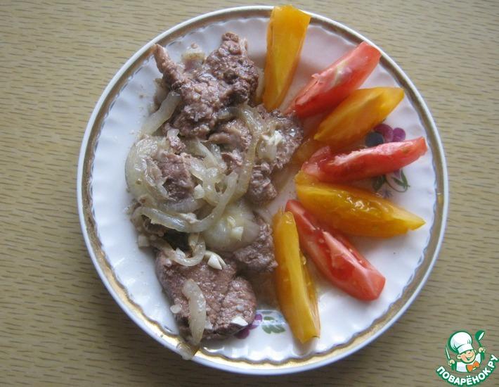 Рецепт: Мясо по-кремлевски