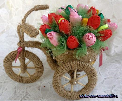 Поделки горшочки для цветов своими руками