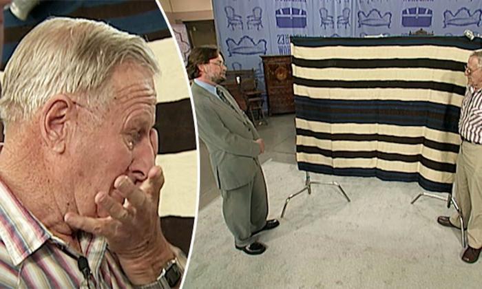 Мужчина случайно узнал, что его старое одеяло стоит полмиллиона долларов