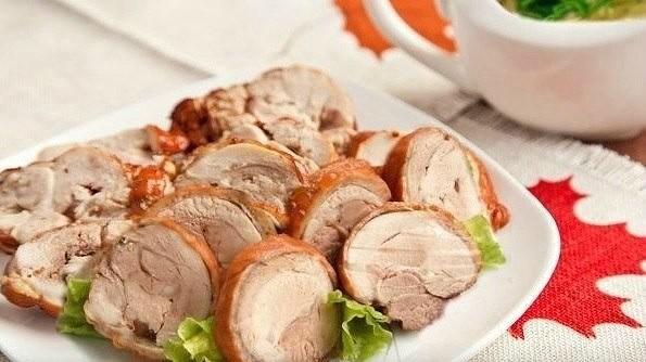 «Копченая» курятина в луковой шелухе