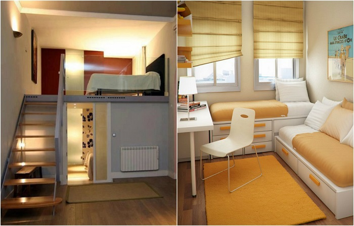 Идеи оформления маленькой спальни, которые придутся всем по душе