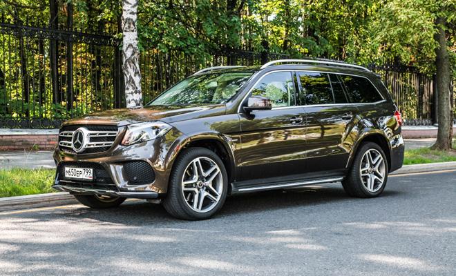 Тест-драйв: Mercedes GLS 350d
