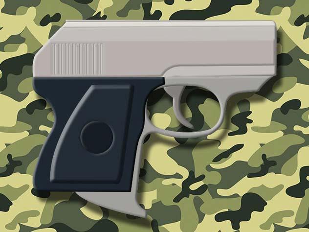 Миниатюрный пистолет оперативниц и разведчиц ОЦ-21 «Малыш»