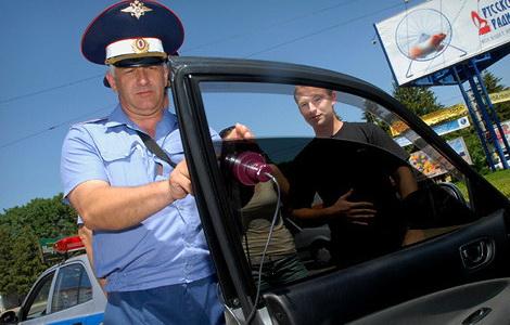 Как избежать штрафа за тонировку