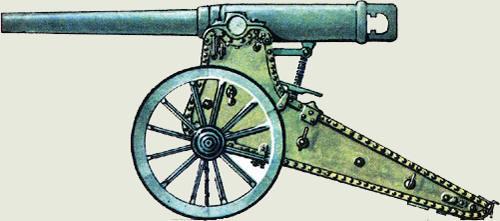 42-линейная осадная пушка образца 1877 года артиллеристы, вов, война, история, подвиг, ссср