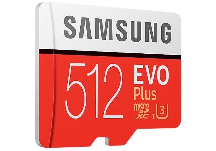 Карта памяти Samsung microSD вместимостью 512 Гбайт оценена почти в 300 евро новости
