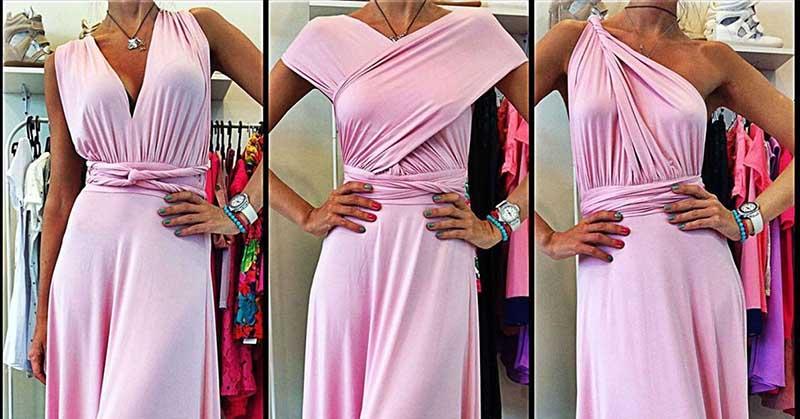 Стильное платье-трансформер: Выкройка и Мастер-Класс