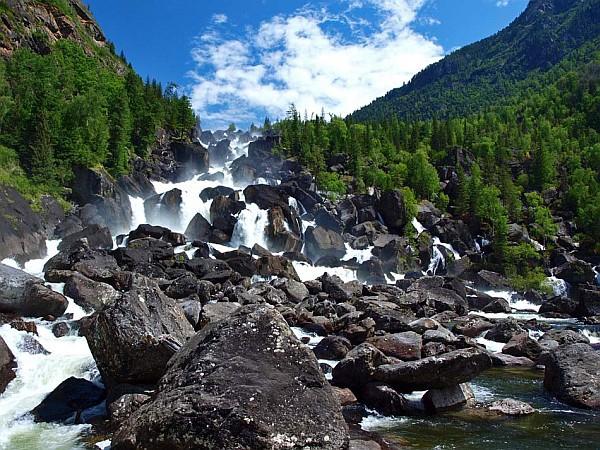 Большой Чульчинский водопад республика Алтай история, ссср, факты