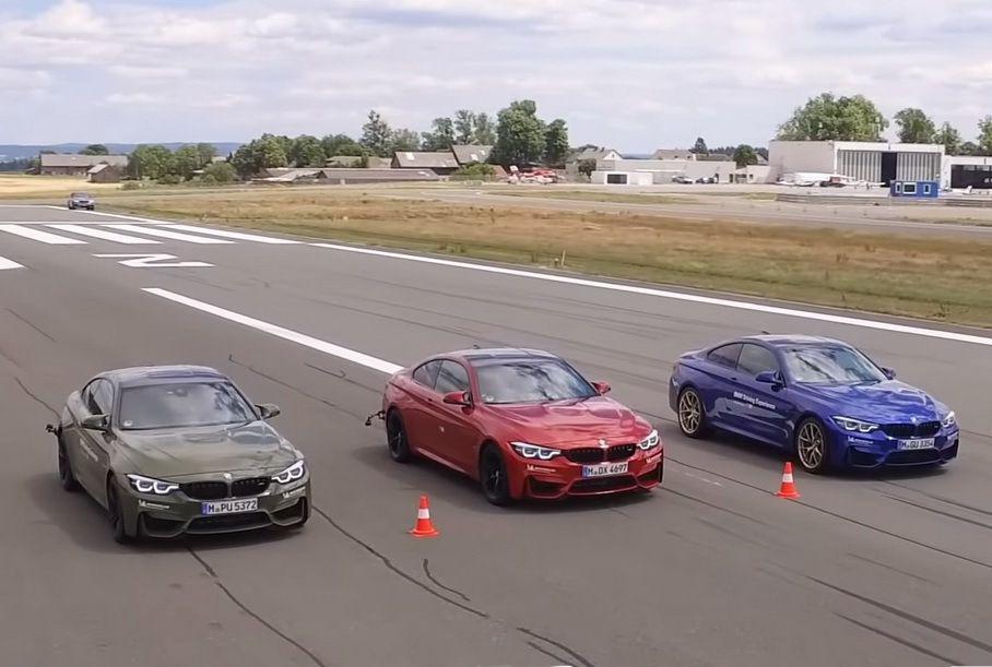 Видео: BMW показала, почему важно менять летние шины на зимние Марки и модели