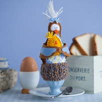 Грелка на свежесваренное яйцо. Мастер-класс