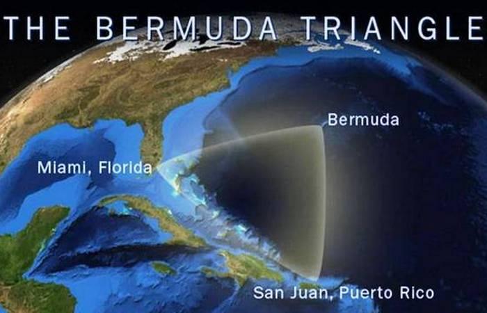 Неразгаданная тайна Бермудского треугольника.