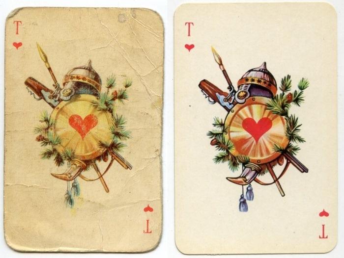 Знаете, кто скрывался за рисунками на популярной в СССР колоде карт? Вот, ни за что не догадаетесь! история