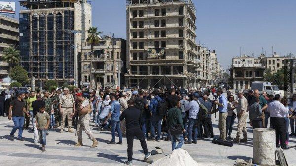САА возвращает своё: сирийцы…