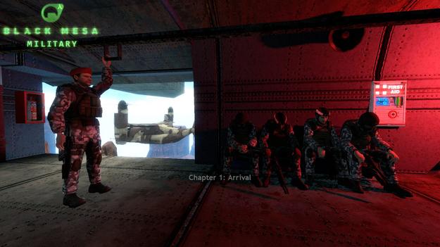 Black Mesa: Military во вселенной Half-Life предлагают получить бесплатно и навсегда black mesa: military,pc,Игры