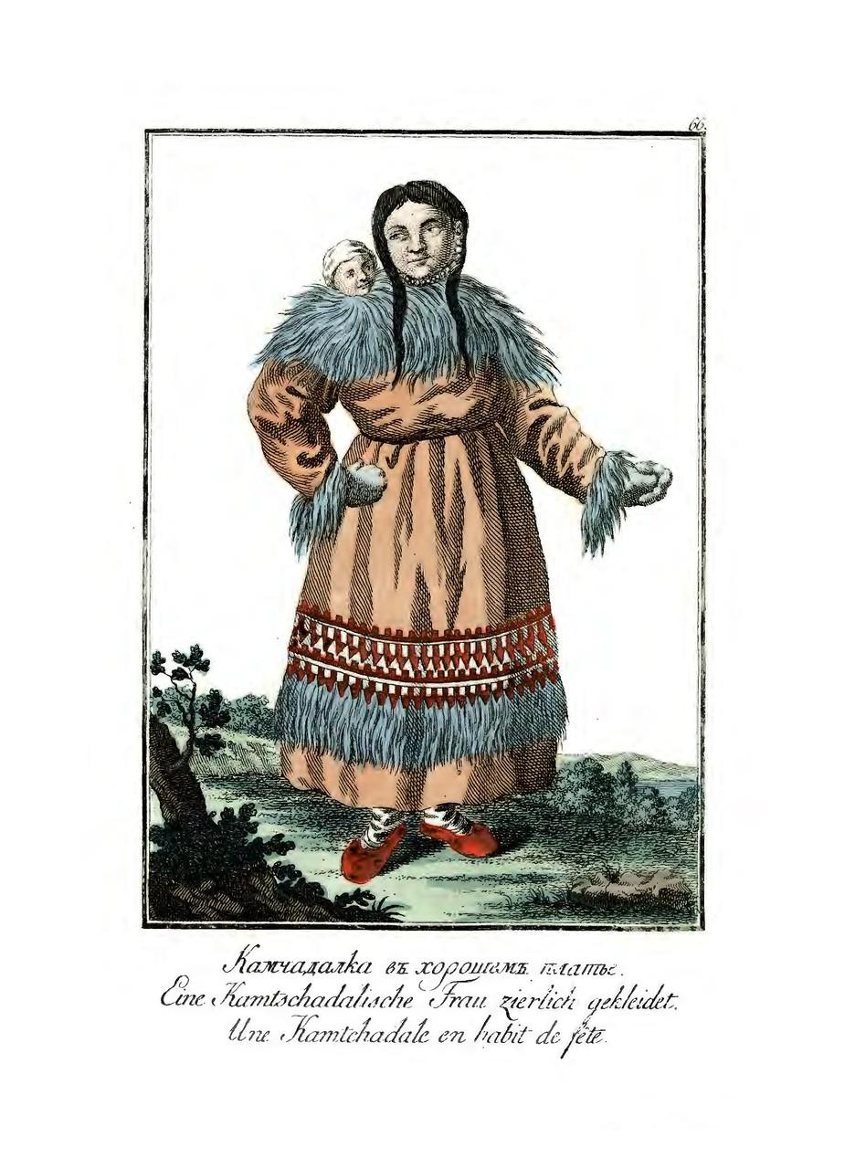 Какие народы живут в России и их национальные одежды. 1799 год