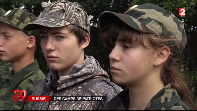 France 2: Россия запустила лагерный конвейер по воспитанию юных патриотов