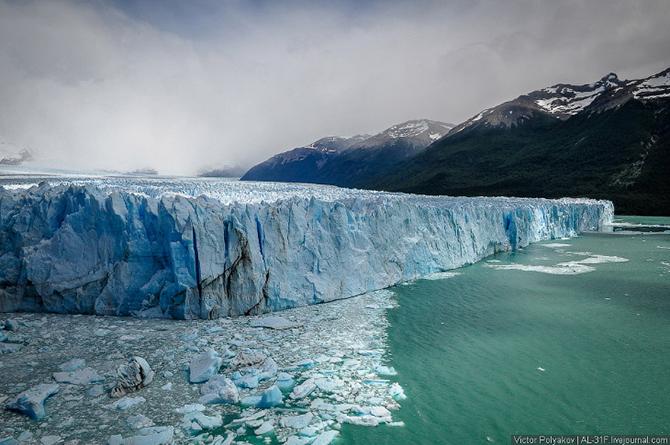 Путешествие к леднику Перито-Морено