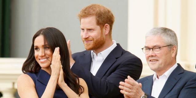 Меган Маркл и принц Гарри вы…