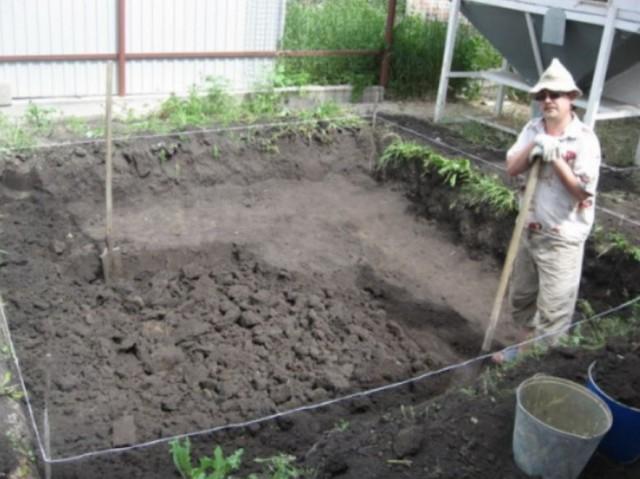 Как я строил бассейн бассейн, постройка