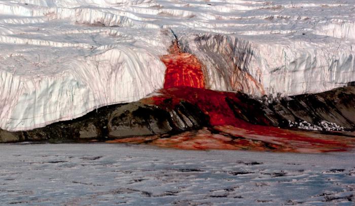 Кровавый водопад.