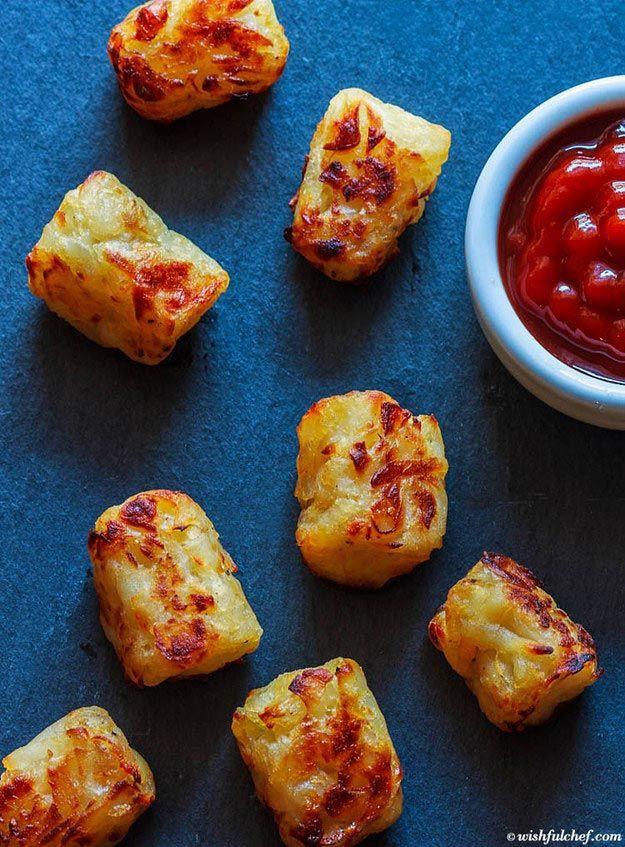 Картофельные шарики еда, овощи