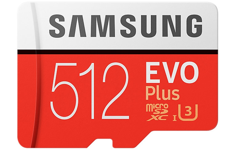 Карта памяти Samsung microSD вместимостью 512 Гбайт оценена почти в 300 евро