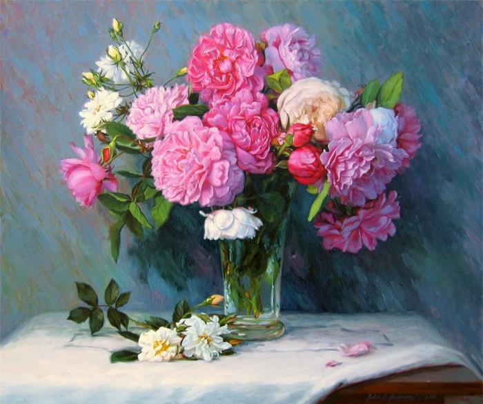 Цветочные натюрморты ROBIN LUCILE ANDERSON