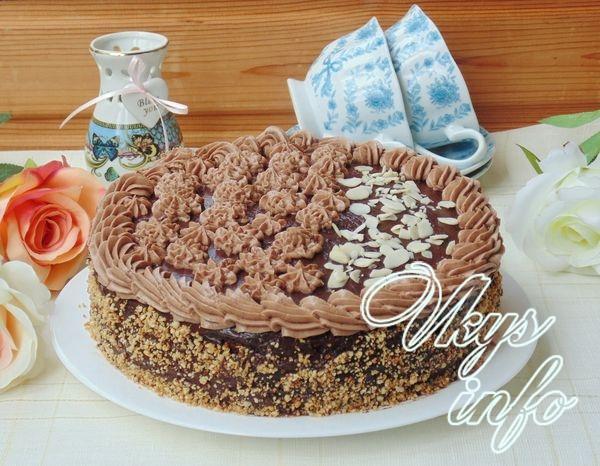 Классический пражский торт со сгущенкой