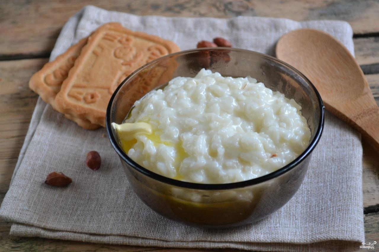 Каша рисовая молочная