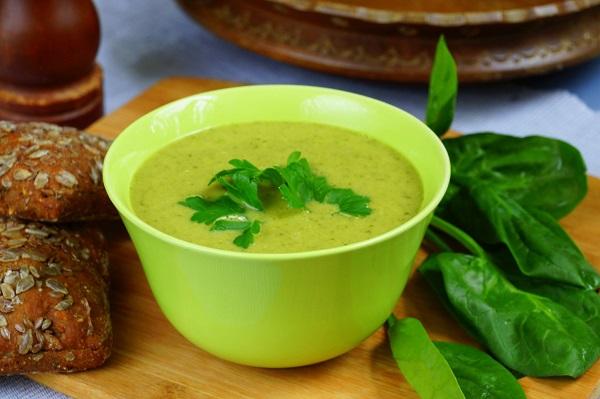 крем-суп со шпинатом рецепт