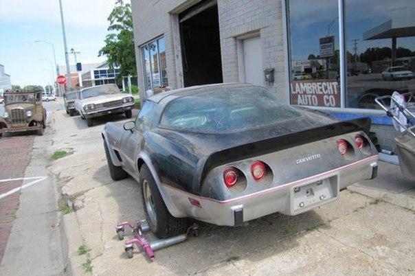 Заброшенный склад дилера Chevrolet факты, chevrolet, склад