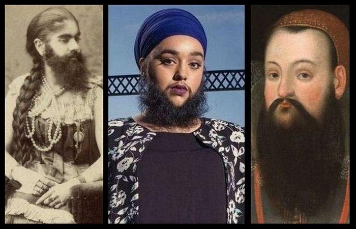 10 бородатых женщин, которые…