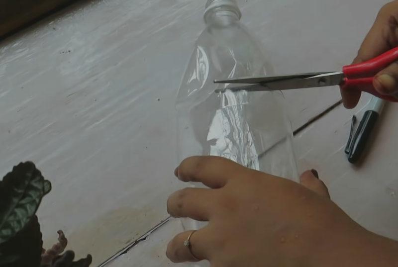 Отличная идея переработки пластиковой бутылки интерьер,переделки,рукоделие,своими руками,сделай сам