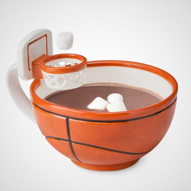 Кружка с баскетбольной корзиной гаджет, дизайн, креатив