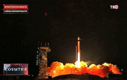 """Российская ракета """"Рокот"""" вывела европейский спутник на орбиту"""