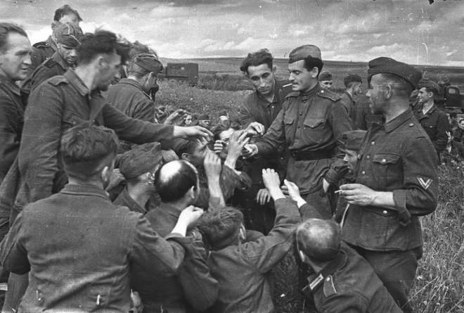 Как немцы обращались с пленными офицерами великая отечественная война
