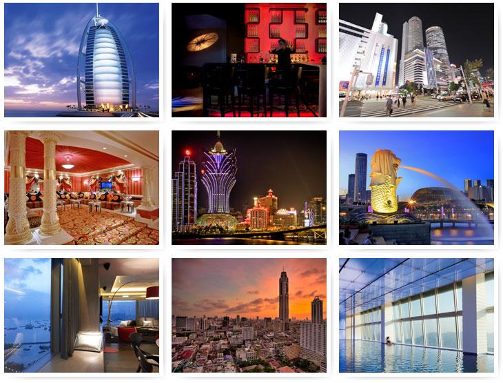 Самые примечательные отели-небоскребы