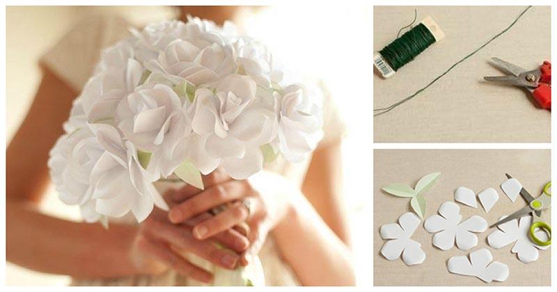 Создайте своими руками исключительно нежный декор, используя проволоку и бумагу