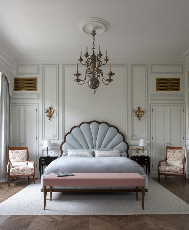 Городской особняк с садом в центре Парижа идеи для дома,интерьер и дизайн
