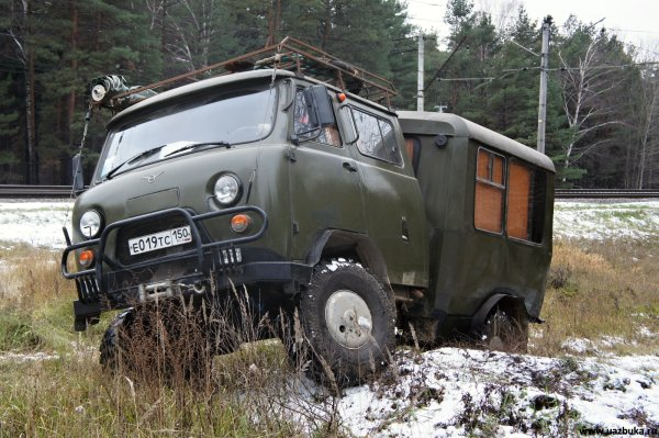 Кемпер на базе УАЗ-31094