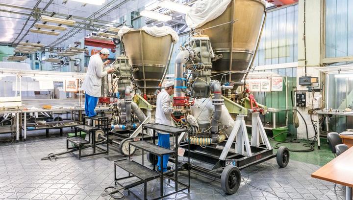 Мощнейший в мире ракетный двигатель РД-171МВ собран для испытаний.