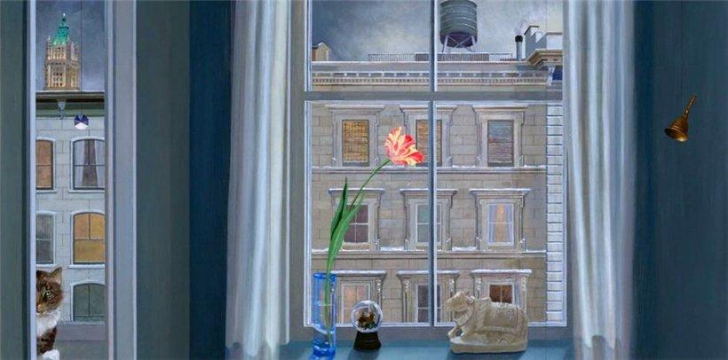 Игра с перетеканием от объектов к их окружению... Американская художница Barbara Kassel