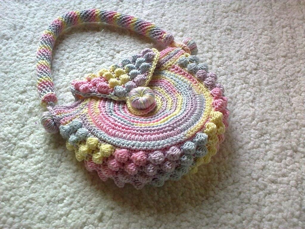 Детская сумка крючком схема фото 112