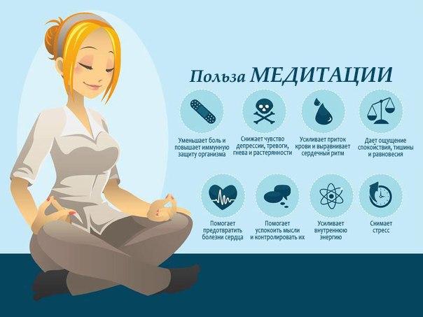 Как снять головную боль с помощью медитации